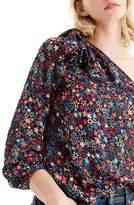 J.Crew Women's Jacuzzi One-Shoulder Star Print Top