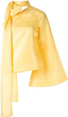 Taller Marmo Sant Ferran bow-detail blouse