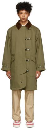 Beams Khaki Fireman Coat