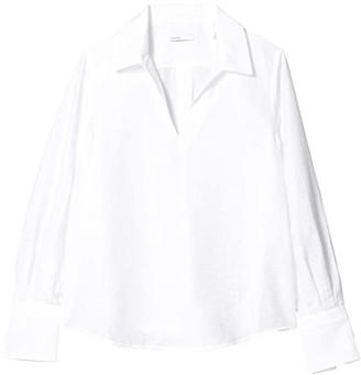 BLDWN Reyna Top (Optic White) Women's Clothing