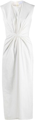 Christian Wijnants Knot-Detail Midi Dress