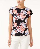 CeCe Floral-Print T-Shirt