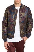 Wesc Men's The Camo Bomber Jacket