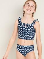 Old Navy Ruffle-Trim Tankini Swim Set for Girls