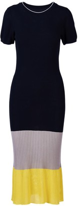 Acephala Colour-Blocked Knitted Dress