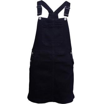Fluid Womens Dungaree Dress Blue