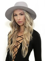 Janessa Leone Sylvar Hat in Silver Sand
