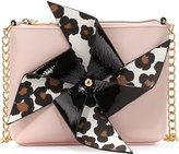 Betsey Johnson Pinwheel Crossbody Bag, Blush