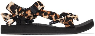Arizona Love leopard-print Trekky sandals