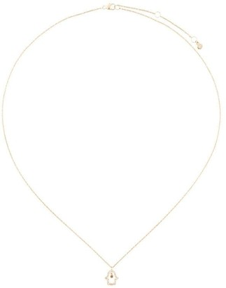 Astley Clarke Hamsa Fine Biography diamond pendant necklace