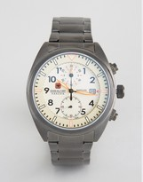 Swiss Military Airborne Watch In Gunmetal