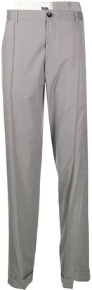 Magliano Asymmetric Ripped Trousers
