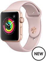 Apple Watch Series 3 (GPS), 42mm Gold Aluminium Case With Pink Sand Sport Band