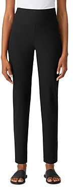 Eileen Fisher High Waist Slim Knit Pants