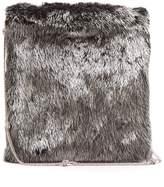 The Row Medicine large mink-fur shoulder bag