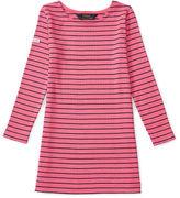 Ralph Lauren 2-6X Striped Ponte Dress