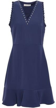 MICHAEL Michael Kors Studded Crepe Mini Dress