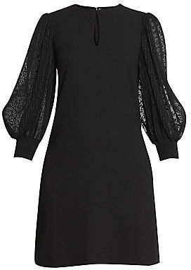Givenchy Women's Soft Wool Crepe Shift Dress