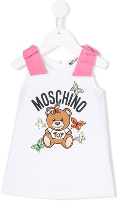 MOSCHINO BAMBINO Graphic Print Dress