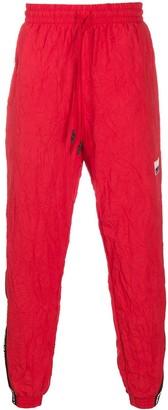 Puma Logo-Tape Crinkle Track Pants