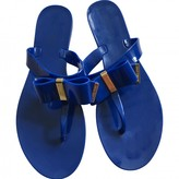 Michael Kors Navy Rubber Sandals