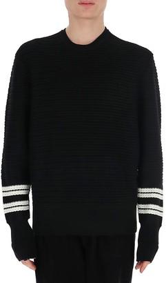 Neil Barrett Contrast Hem Sweater