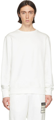 Maison Margiela Off-White Elbow Patch Sweatshirt