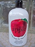 philosophy an Apple a Day Keeps the Blues Way Red Delicious Apple Shampoo Shower Gel and Bubble Bath 16 Oz