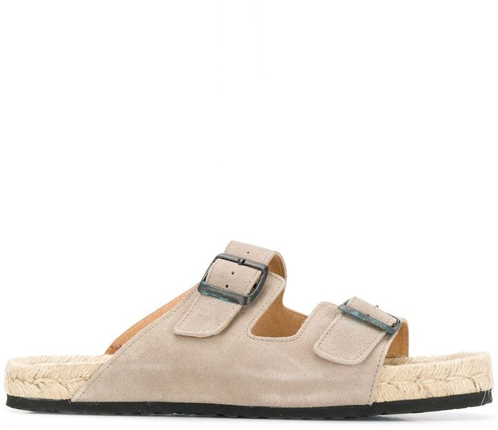 Manebi Slip-On Espadrille Sandals