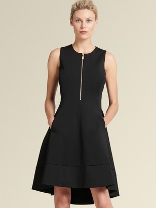 DKNY The Icon - Zip-front A-line Dress