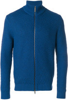 Etro zip front sweater - men - Viscose/Wool - XL