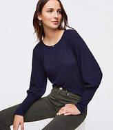 LOFT Wide Cuff Sweatshirt