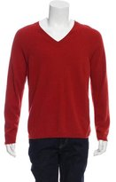Hermes Cashmere V-Neck Sweater w/ Tags
