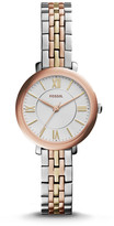 Fossil Jacqueline Mini Tri-Tone Stainless Steel Watch