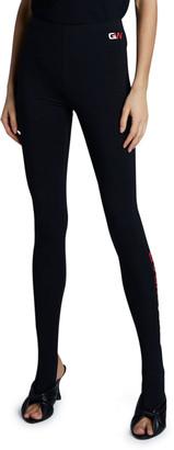 Balenciaga Gym Wear Foot Leggings