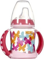 NUK Silicone Spout Learner Cup - Girl - 5 oz