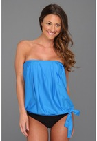 Athena Heavenly Bandini Top (Blue) - Apparel