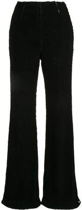 Rachel Gilbert Addie flared sequin trousers