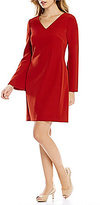 Alex Marie Phyllis Bell Sleeve Shift Dress