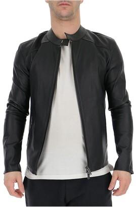Desa 1972 Zipped Leather Jacket