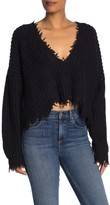 Wildfox Couture Deep V-Back Palmetto Sweater