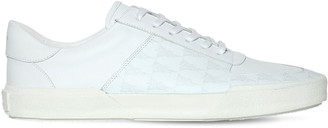 Amiri Dagger Monogram Leather Sneakers