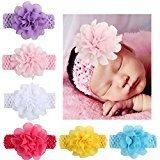 Alonea 6PCS Baby Kids Head Accessories Hairband Baby Floral Hairband (6PCS Hairband)