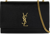 Saint Laurent Monogram large leather shoulder bag
