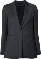 Elie Tahari embroidered trim blazer