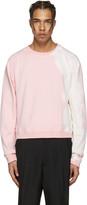 Haider Ackermann Pink Raw Edge Pullover