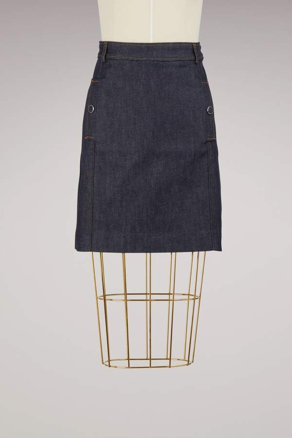 Vanessa Seward Denim Austin Skirt