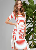 Isabella Oliver Nia Maternity Ruched Dress