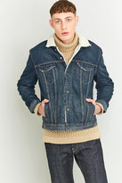 Levi's Type 3 Luckytown Blue Sherpa Trucker Jacket