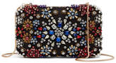 Alice + Olivia Embellished Snowflake Clutch